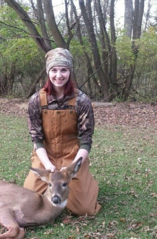 Opening day brings good fortune for female hunter