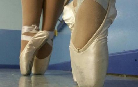 Pointe ballet: Grace takes hard work