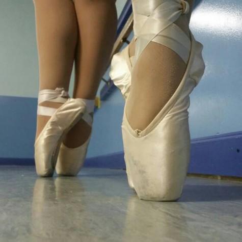 Pointe ballet: Grace takes hard work