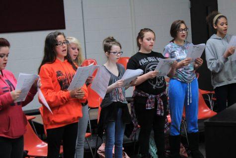 Choir makes a good performance