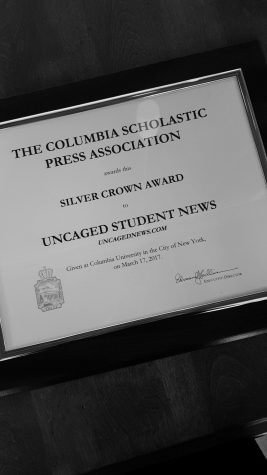 Uncaged receives the Silver Crown at the CSPA spring conference in New York