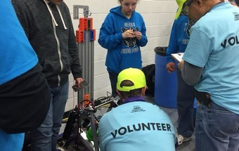 Panther Powered: FIRST Robotics Team Takes on First Competition