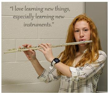 Freshman flutist breezes into States