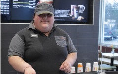 During a school week, senior Senaida Gonzalez works cashier at Mcdonald's during her six and half hour shift, taking customers oders. Gonzalez has worked at MCdonald's for almost 2 years. She thinks that the minimum wage should be replaced with a livable wage.