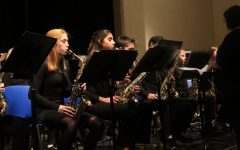 Jazz band opens for Randy Napoleon and MSU jazz band members at town hall